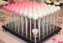 bat mitzvah dessert table