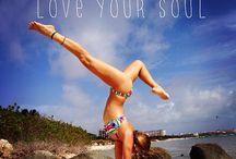 Fitness, yoga, motivation