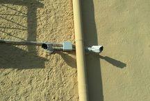 Circuito Cerrado de Televisión CCTV / Instalaciones de diferentes cámaras para CCTV