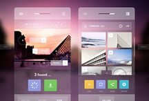 Mobile UI Design / The very best in Mobile UI design