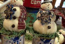 Snowmen & Santas
