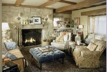 Fantasy dream home / My fondness for cottage-style decor and clutter. No modern minimalism for me!