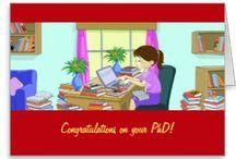 Congratulations on college graduation, Master's, PhD