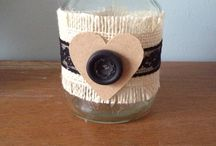 Cheap things to do with jars and other bits / Things I have knocked up