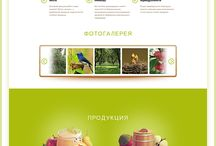 fruit web design
