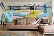 Interior design / Drawing in interior