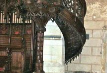 Púlpitos de Iglesias y Catedrales.