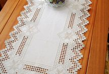 Table runners hardandanger