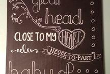 Chalkboard lover :-)