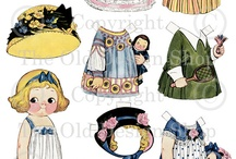 Paper dolls Dolly Dingle