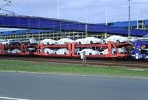 Car Transport By Rail / #Car #Transport By #Rail