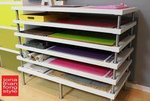 Storage art paper