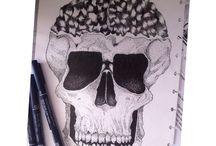Pointill art
