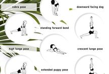Yoga and stretching exercise
