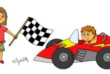 Les activités scolaires / Mes dessins pour illustrer les activités scolaires