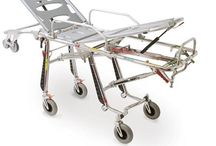 Stretchers / A vital rescue device, the stretcher is the primary interface instrument between patient and rescuer