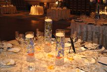 Wedding Reception Flowers / visit us-  Maria and Larry at FloralExpressionsOnline.com