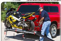 car & motorcycle