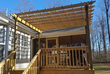 Decks & Patios / Custom decks and patios in the Greensboro, NC area