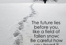 Winter Quotes & pics