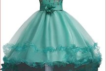 Flower girl dresses / Ideas and inspiration for the little flower girl at your wedding.  Dresses also perfect for any other special occasion including pageantry.
