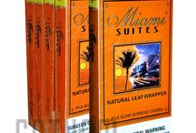 Miami Suites Cigars / Miami Suites cigars are available in five appealing flavors, namely Irish Cream, Rum, Honey Berry, Amaretto and Honey.