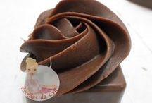 flor de chocolate
