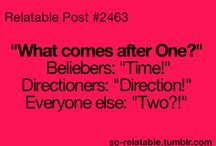 Beliebers and Directioners ~ Belectioners / Beliebers are Directioners older siblings..v bikr around but wen in trouble v COME 2GTHR