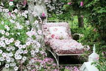 Inspiration: Shabby Chic Garden