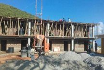 New school building in Gorkha.