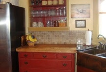 :: HOME-Free-Standing and UnFit:: / Kitchens- that have the appeal of being built over time.  Not BIG BOX cabinetry.