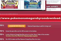 Pokemon Omega Ruby Rom GBA Download / Pokemon Omega Ruby 3DS Emulator tell a grand tale that draws ever closer to the heart of the secrets behind Mega Evolution, said to be the greatest mystery of the Pokémon world. One of your many goals will be to seek out these powerful Pokémon and unlock their incredible potential.