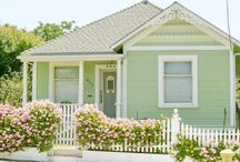 ❥ Green Cottage / by Lady Anne's Charming Cottage