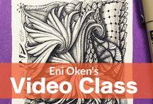 Art: Zentangle Classes and Instruction