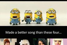 Minions / ITS MINIONS OF DIFERENT CHARACTERS!!!!! Really funny+ cute;)
