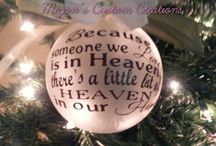 Megan's Custom Creations / Custom home décor, glassware, cups, party decorations, t-shirts, car decals and more!