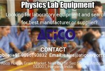 Physics lab equipment / Best school and colleges are recognized by their quality of facility. All non medical students want that their school should have best physics lab equipments and many more equipments in their lab. So school and colleges should use best Physics Laboratory Instruments for their labs for getting good response from the students.
