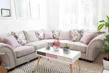 Living room Makeover / Pastel interiors