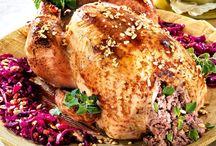 Receta pollo relleno