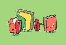 Bookish posters & illustrations / humor, fun and bookish / by Judy Sartori