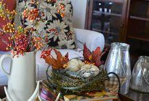 Fall Decorating (Keeping Comfort)