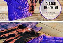 Tye dye bleach