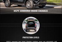Armoured Jeep Grand Cherokee