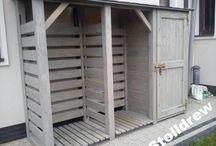 Domek narzędziowy/drewutnia