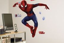 Movie Wall Decals / From the theater to your walls, we got your favorite movie characters and superheroes right here! / by RoomMates Decor: Wall Decals & More