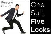 One suite five looks