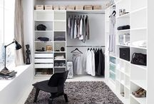 Bookshelves ~ Closets ~ Storage