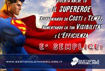 Diventa un Supereroe per la tua agenzia! / Passa a GestionaleImmobiliare.it  e avrai 2 MESI GRATIS con solo 450 euro all'anno