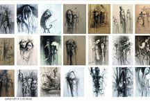 Drawings - Krzysztof Lozowski
