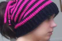 1Crochet~ Beanies/Hats/Headbands / by Sally McCroskey